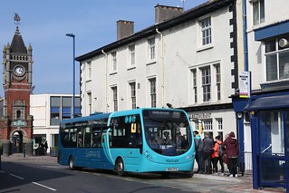 Arriva North East 1565 NK64EFB at Redcar