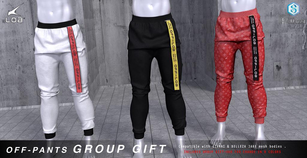 [LOB] OFF – PANTS GROUP GIFT