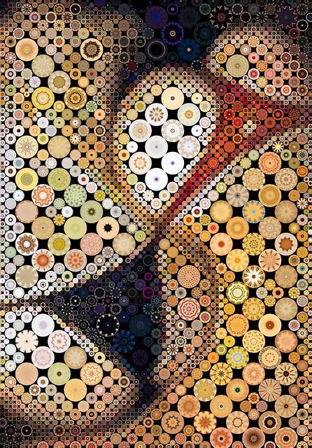 Yin and Yang Mosaic