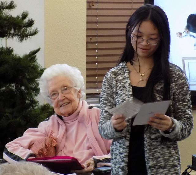 Volunteering at the Nursing Home