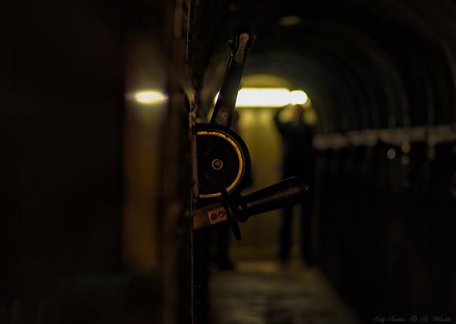 The disconnector / Der Trennschalter