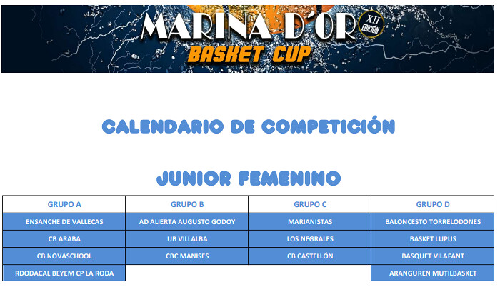 MarinaDoor calendario junior