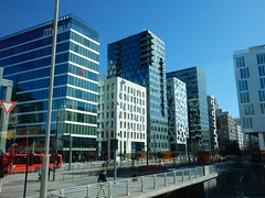 The Barcode group of buildings