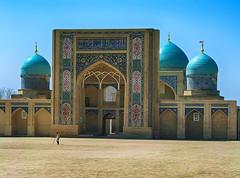 Tashkent. Madrasah in the Hast Imam