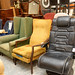 Fireside armchairs from E55