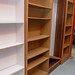 Open front bookcase E85 up