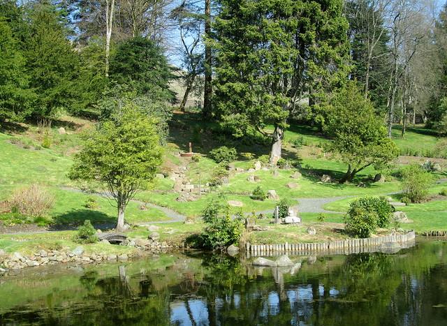 Japanese Garden , Cowden, Scotland