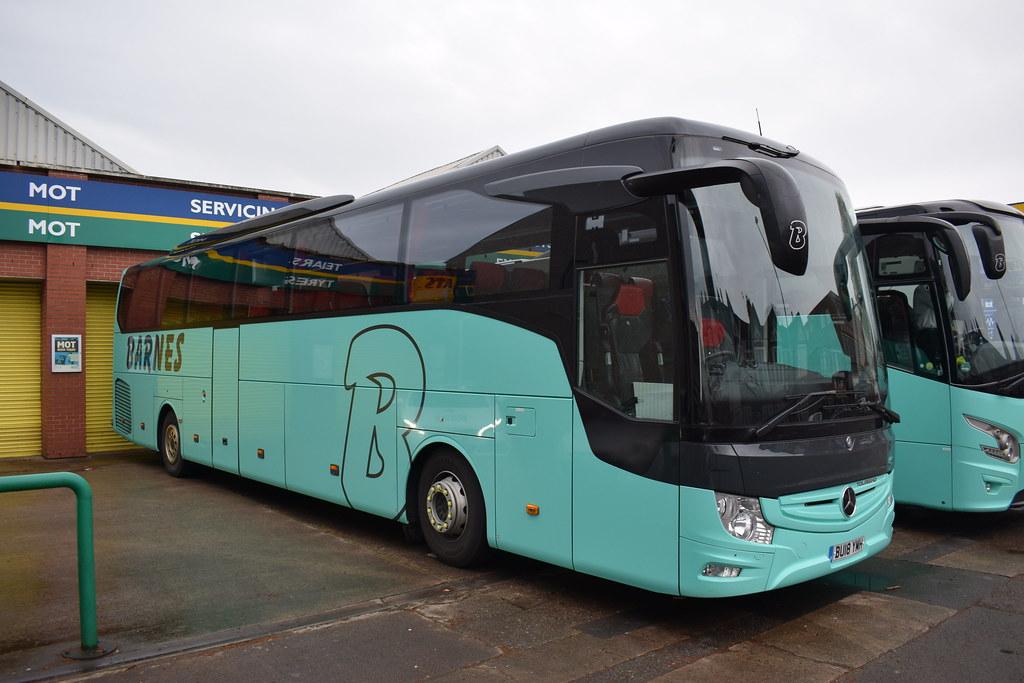 Barnes Coaches Ltd Mercedes-Benz Tourismo Coach BU18 YMH ...