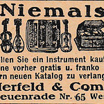 Fri, 2019-04-19 18:47 - 1927 ad for Herfeld & Co musical instruments