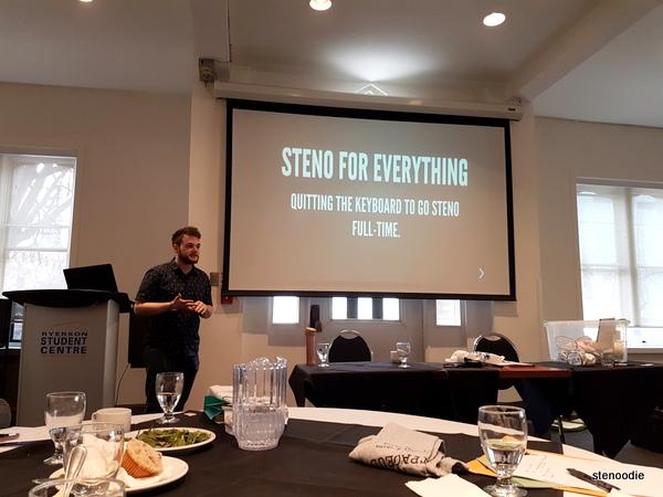 Ted's steno presentation