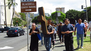 The First Chinese Church of Christ Good Friday Cross walk 2019