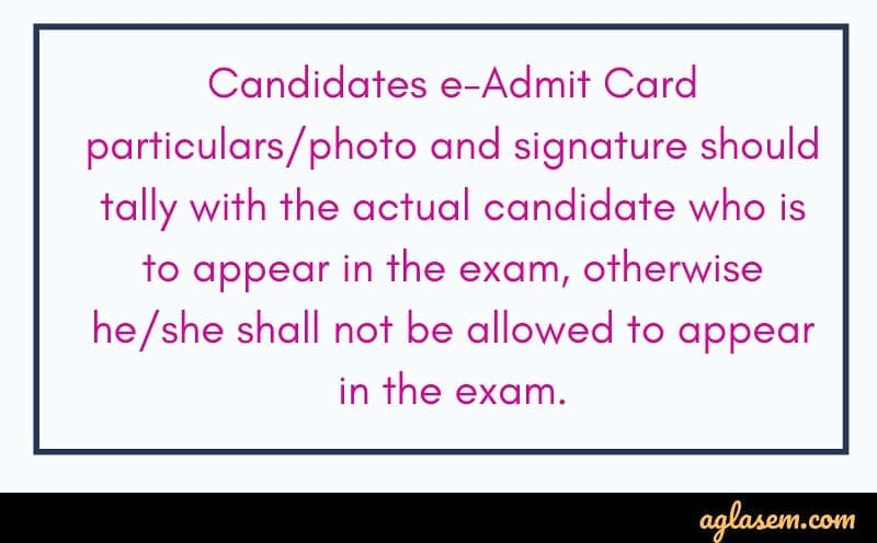 CSIR NET Admit Card 2019