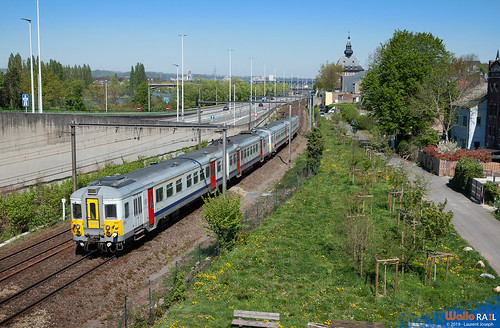 994 + xxx sncb e12121 ligne 40 vise 20 avril 2019 laurent joseph www wallorail be
