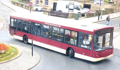 YX56 DZK 'East Yorkshire Motor Services' No. 272 'Scarborough & District'. Alexander Dennis Ltd. (ADL) Enviro 300 / 'ADL' Enviro 300 on Dennis Basford's railsroadsrunways.blogspot.co.uk'