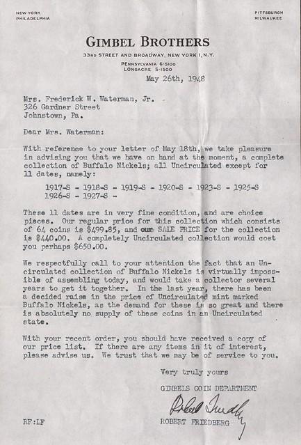 Friedberg Letter