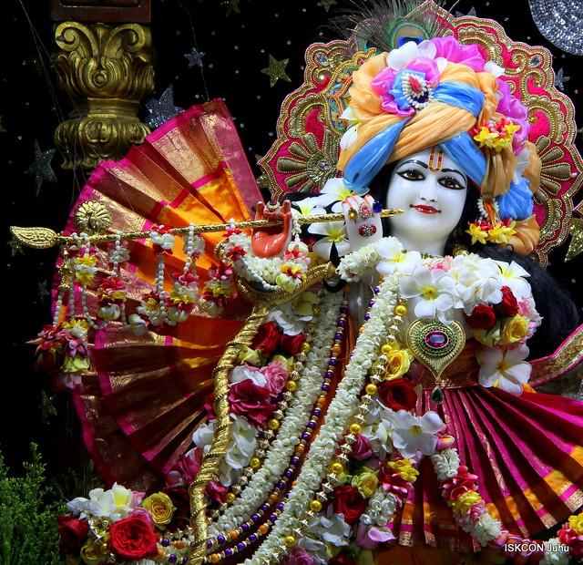 ISKCON Juhu Sringar Deity Darshan on 21st Apr 2019