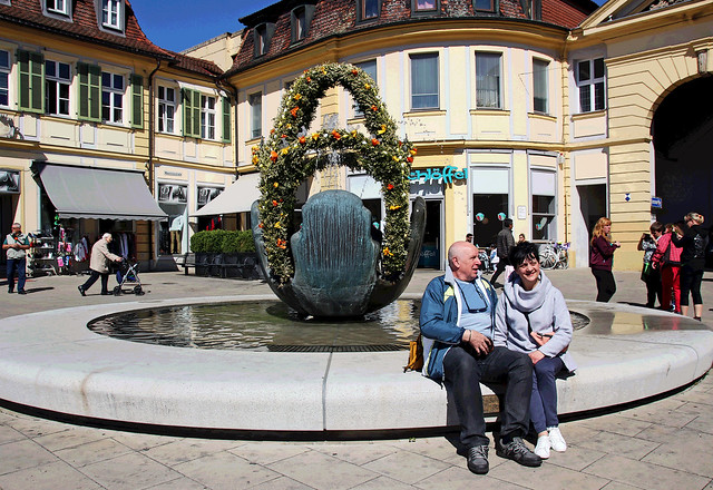 Easter fountain in Franconia IMG_6126
