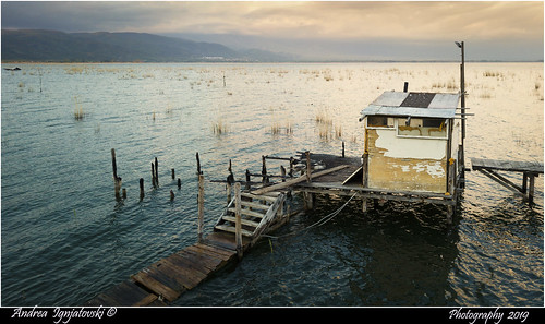 mavicprodji drone airphotography dojran makedonija dojranskoezero lake prespa docks abandoned aerial