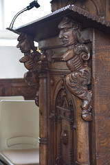 reading desk figures (17th Century)