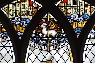 agnus dei: 'the lamb is the light'