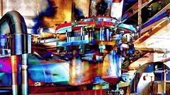 auchentoshan distillery whisky machine