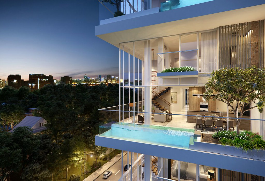 Tiện ích vượt trội dự án Serenity Sky Villas