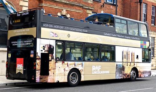 PIW 4457 'Stagecoach Lincolnshire' No. 16943 'CITY SIGHTSEEING TOUR'. Volvo B7TL / Wright Eclipse Gemini /4 on Dennis Basford's railsroadsrunways.blogspot.co.uk'
