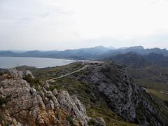 Formentor (Mallorca-España). Vista desde  la Talaia d´Albercutx