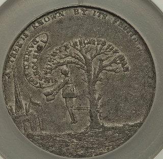 Paine Die for this Book Medallette obverse