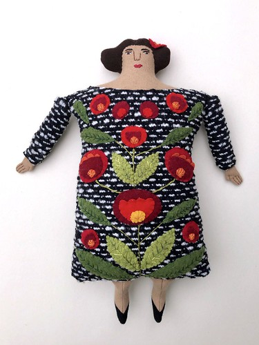 Folk Art Lady Pillow Doll | by Mimi K