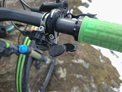 Tesa anti slip tape on XTR M9000 shifter