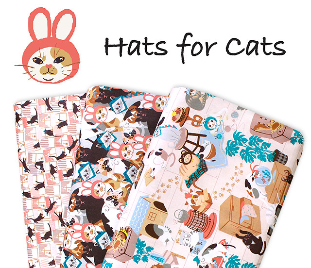 Paintbrush Studio Fabrics Hats for Cats