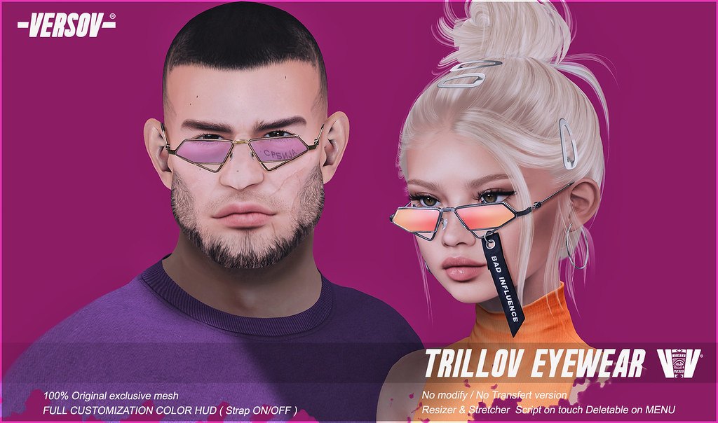 [ Versov // ] TRILLOV glasses available at A+ EVENT !