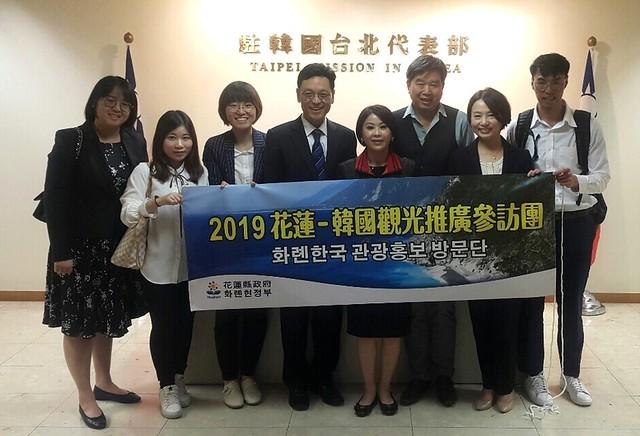 拜訪外交部駐韓大使和觀光局駐韓代表 (2)
