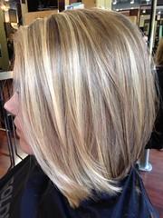 Balayage blonding by Olive at City Salon and Spa of Athens. citysalonathens.co…