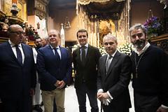 Pablo Casado en la Virgen de La Soledad en Badajoz