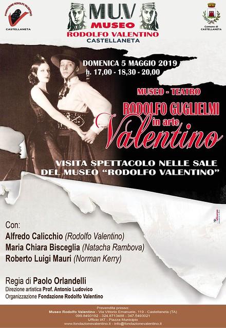 Rodolfo Guglielmi in arte Valentino 19 (manifesto)