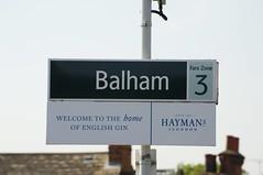 Balham train station