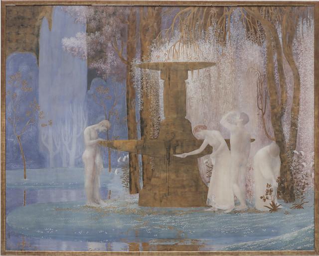 La Fontaine de l'Inspiration, Constant Montend, 1907