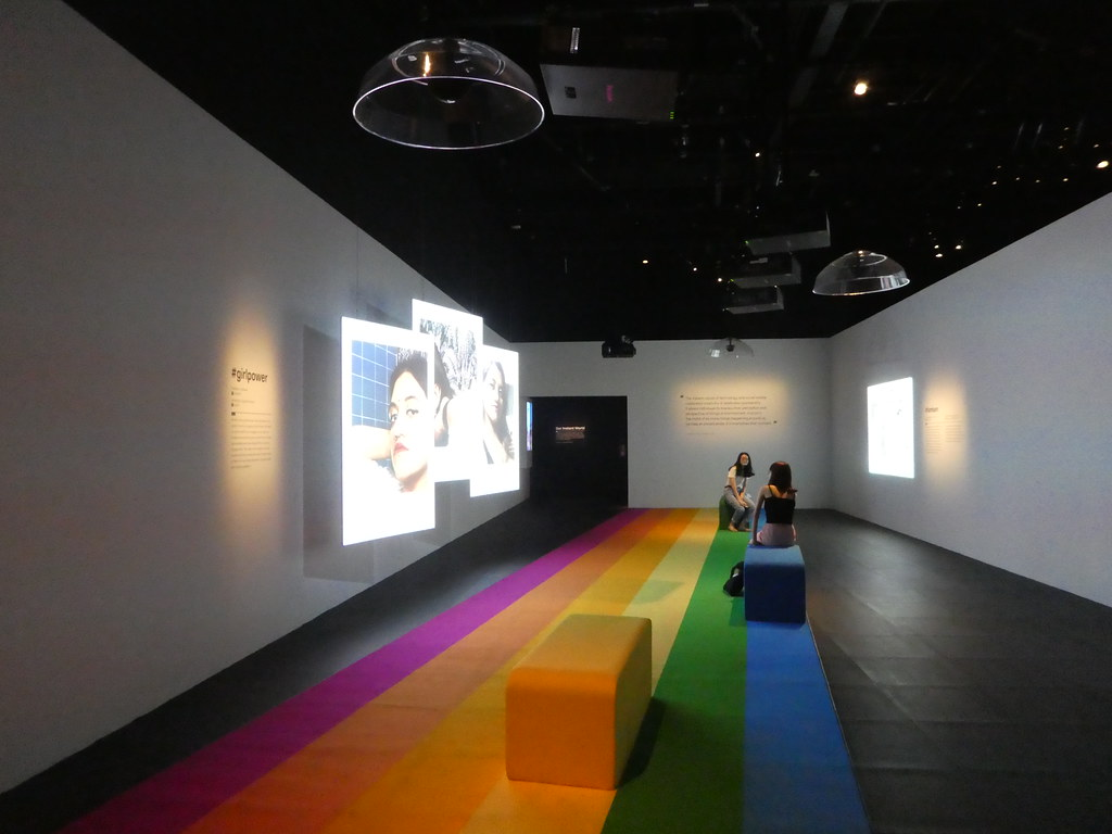 In an Instant - Polaroid exhibition, National Museum of Singapore
