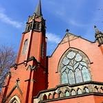 Fulwood Wesleyan Methodist Church and Withy Trees