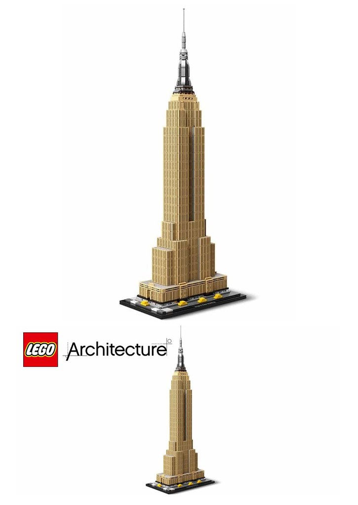 LEGO 21046  Architecture EMPIRE STATE BUILDING!