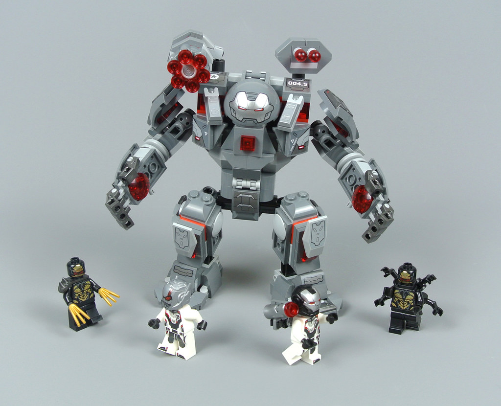 Lego Marvel Super Heroes 76124 War Machine Buster Review Brickset