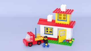 525 Basic Set—House and Car | by SafePit