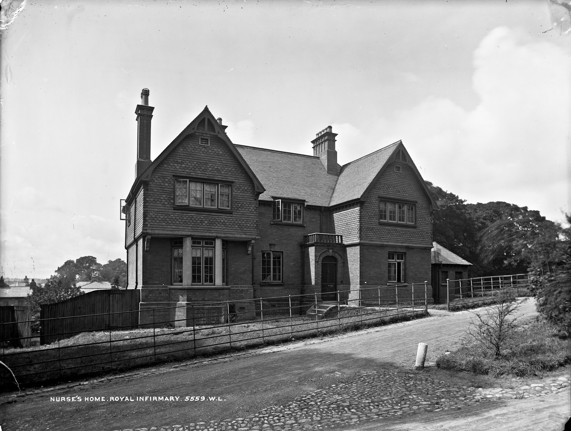 Nurses home on a steep hill