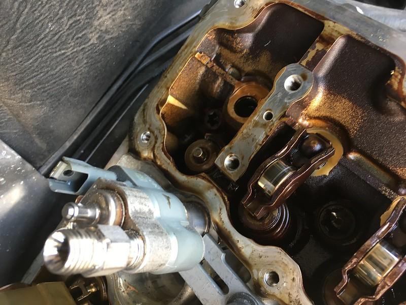 e91 N53 325i - lack of compression on Cylinder 6