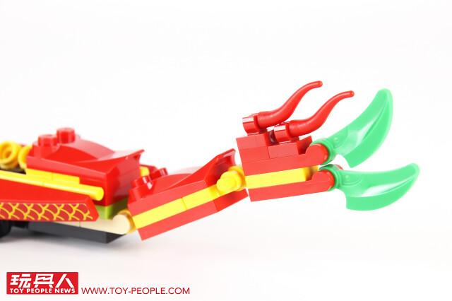 歡慶端午,緊張刺激的龍舟競賽展開!! LEGO 80103【龍舟賽】Dragon Boat Race 開箱報告