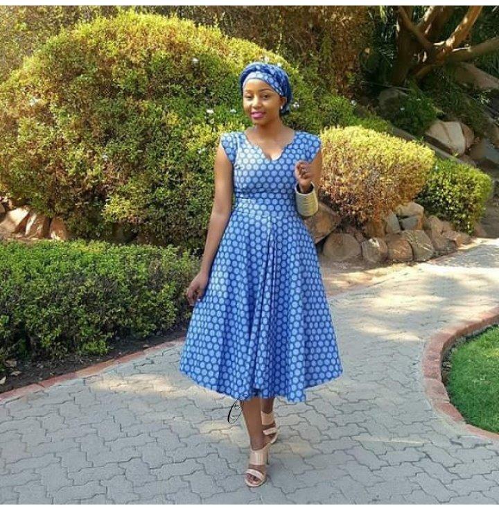 Modern Gallery Of Shweshwe Dress Designs 2019