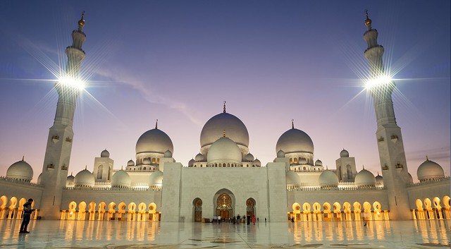 """Sheikh Zayed Mosque - UAE"""