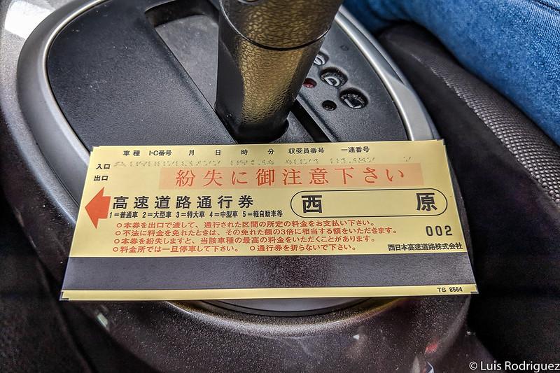 Ticket de peaje